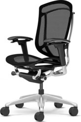 Кресло офисное OKAMURA CONTESSA Black,  полированное